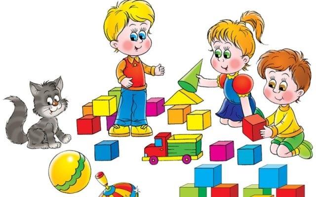 Красивый рисунок дети и воспитатель (7)