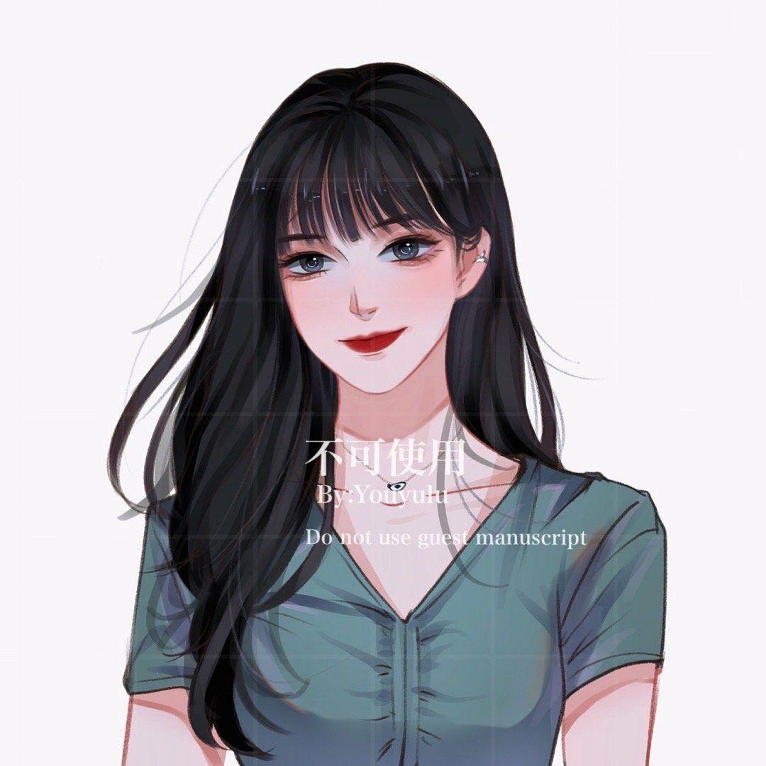 Красивый рисунок на аву девушки (14)