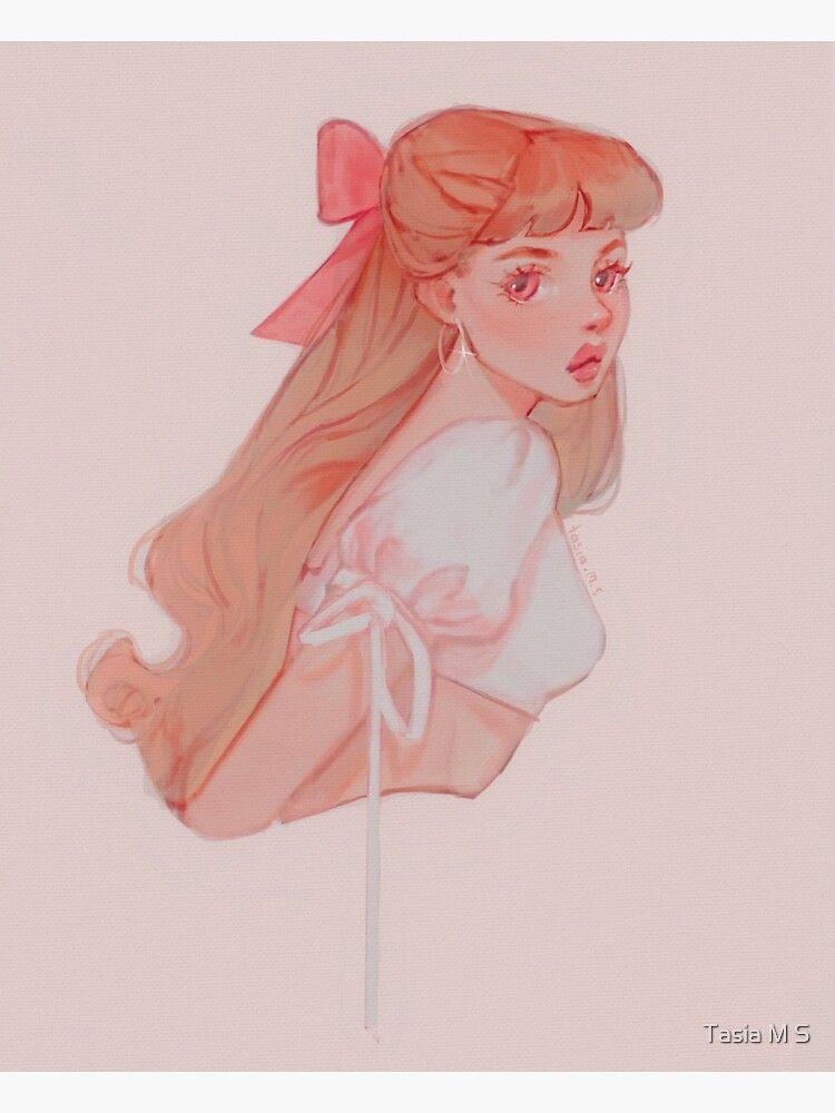Красивый рисунок на аву девушки (22)