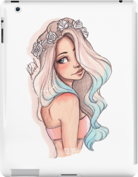 Красивый рисунок на аву девушки (3)