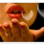 Открытка воздушный поцелуй мужчине