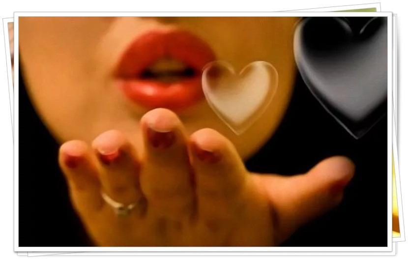 Открытка воздушный поцелуй мужчине (21)