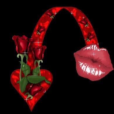 Открытка воздушный поцелуй мужчине (5)