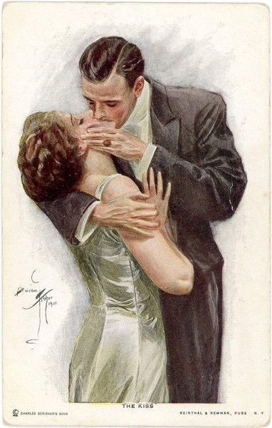 Поцелуй в картинках в губы (13)