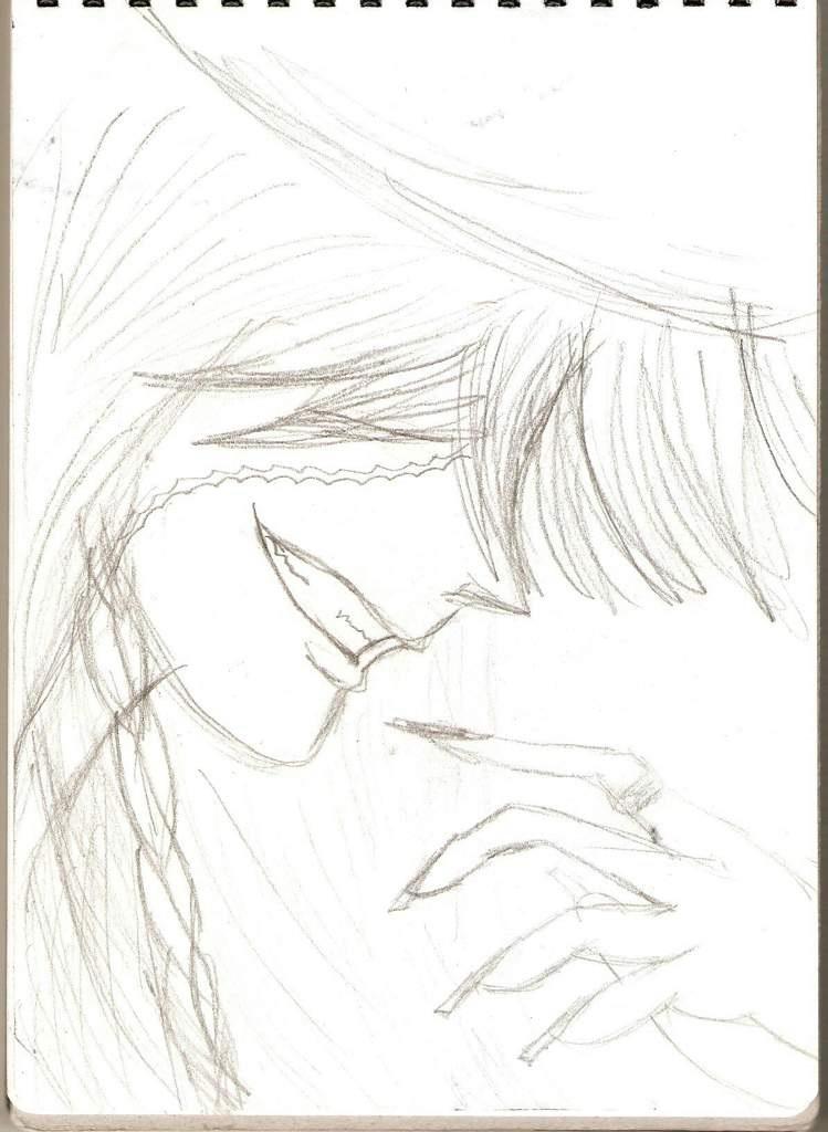 Темный Дворецкий рисунки карандашом, простенькие (7)