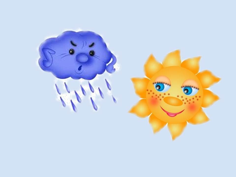 Самые красивые картинки тучки и солнышко для детей (1)