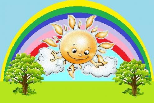 Самые красивые картинки тучки и солнышко для детей (17)