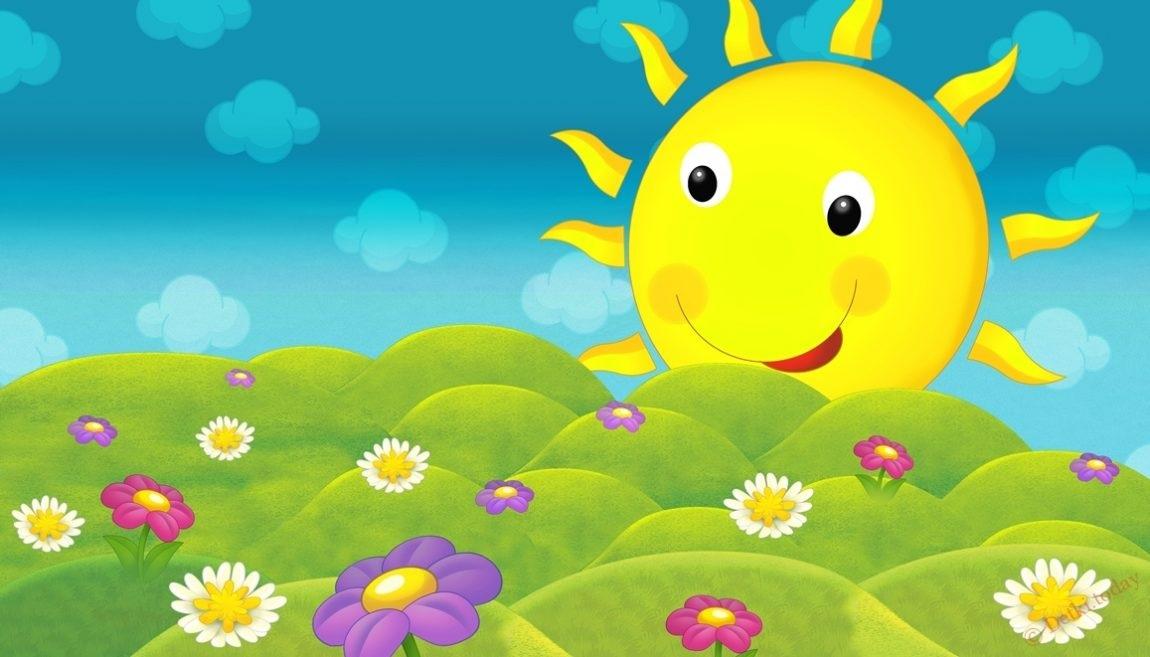 Самые красивые картинки тучки и солнышко для детей (7)