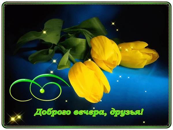Доброго вечера друзья картинки и открытки (6)