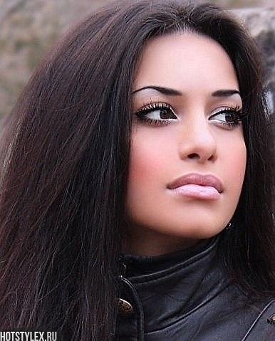Лучшие картинки кавказских девушек на аву (16)