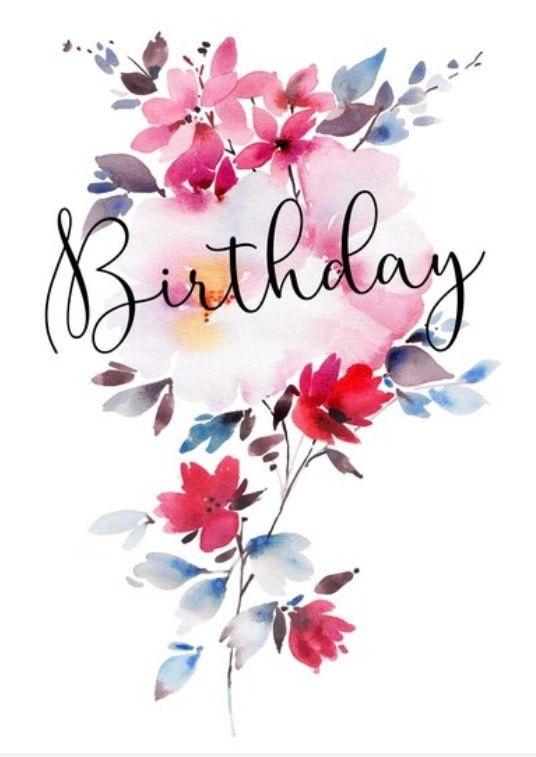Милая открытка на День рождения тумблер (21)