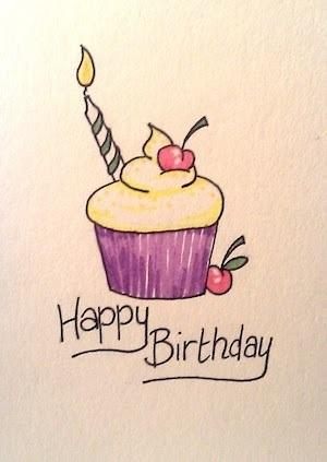Милая открытка на День рождения тумблер (4)
