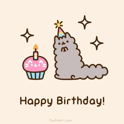 Милая открытка на День рождения тумблер (6)