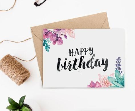 Милая открытка на День рождения тумблер (8)