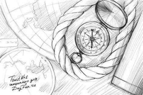 Прикольные рисунок скоро в школу карандашом (11)