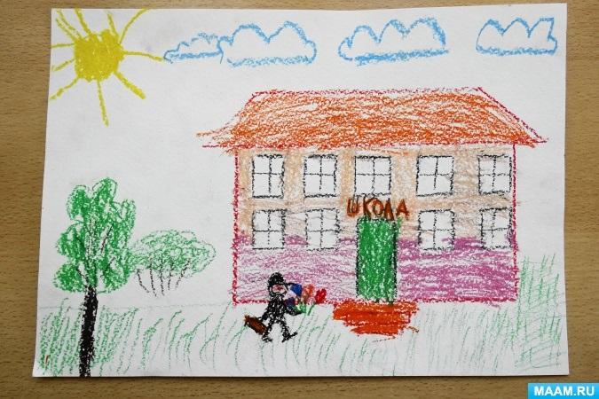 Прикольные рисунок скоро в школу карандашом (17)