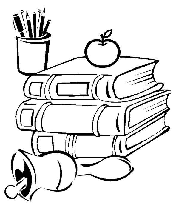 Прикольные рисунок скоро в школу карандашом (8)