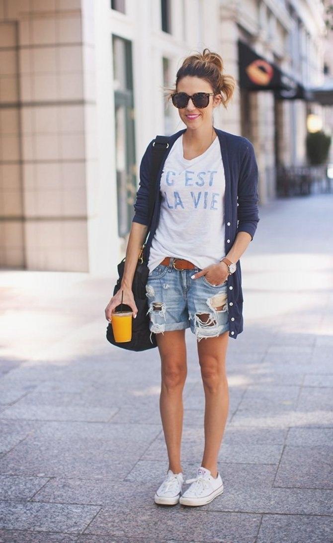 Девушки в джинсовых шортах на аву   лучшие фото (10)