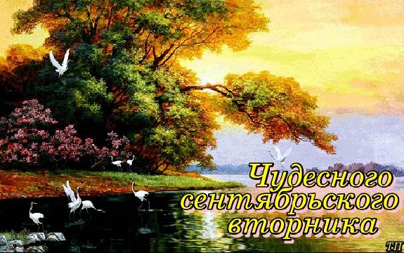 Доброе сентябрьское утро яркие открытки для друзей (13)
