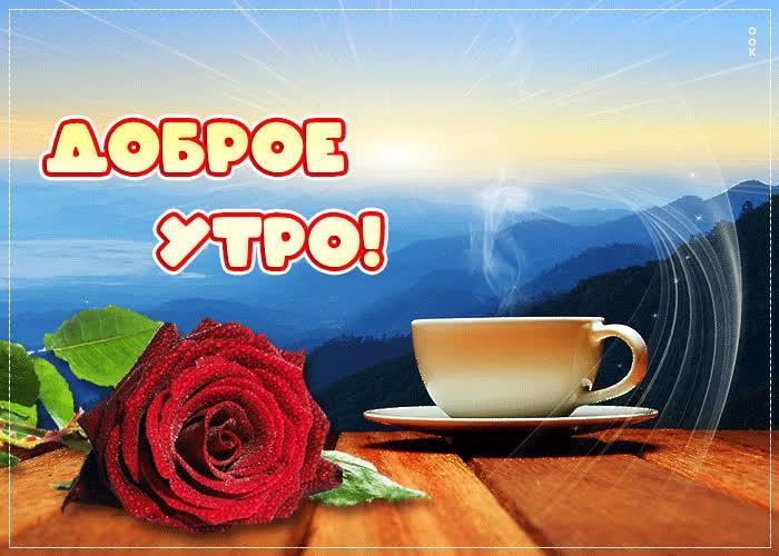 Доброе утро августа картинки с кофе и чаем - подборка (24)
