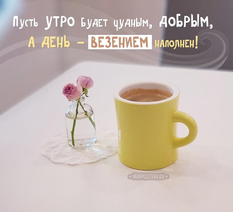 Доброе утро именинник картинки с поздравлениями (19)