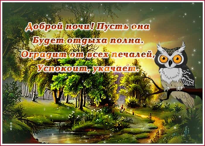 Картинка ночного прощания красивого (11)