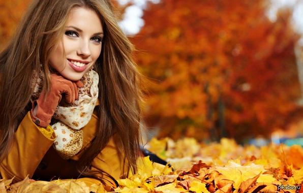 Красивые картинки девушек в сентябре - фото подборка за 2021 год (2)