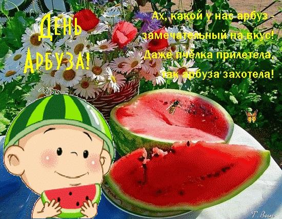 С Днем Арбуза - красивые фото и картинки 3 августа (18)