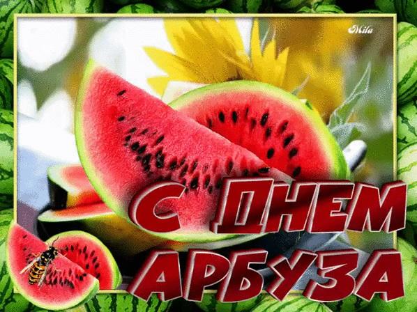 С Днем Арбуза - красивые фото и картинки 3 августа (23)