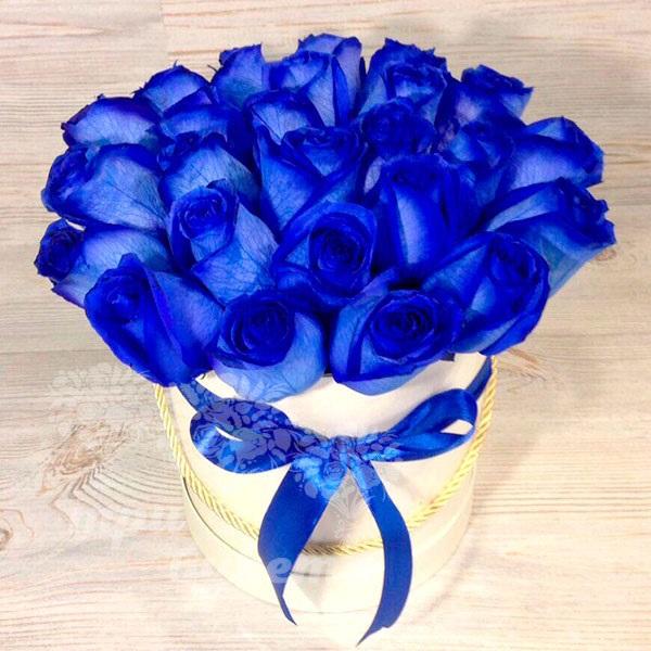С Днем Рождения синие розы - подборка открыток (16)