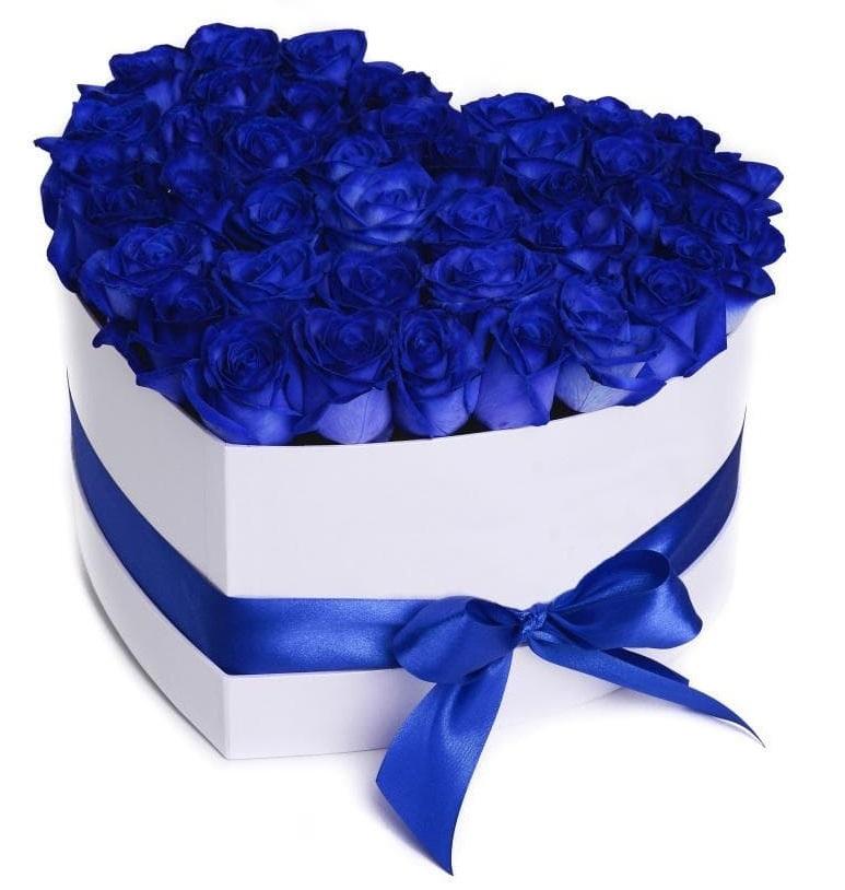 С Днем Рождения синие розы - подборка открыток (18)