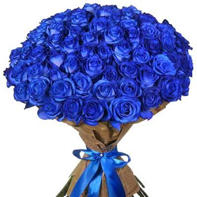 С Днем Рождения синие розы - подборка открыток (2)