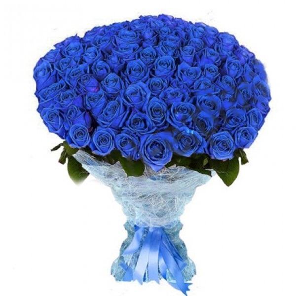 С Днем Рождения синие розы - подборка открыток (22)