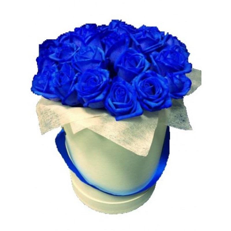 С Днем Рождения синие розы - подборка открыток (23)