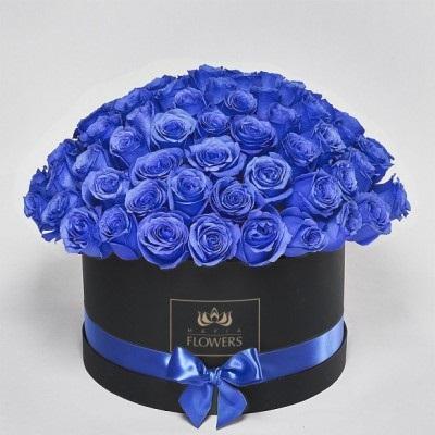 С Днем Рождения синие розы - подборка открыток (3)