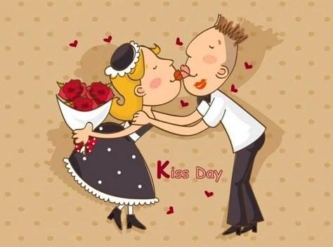 С Днем первого поцелуя 27 августа - открытки и картинки (10)