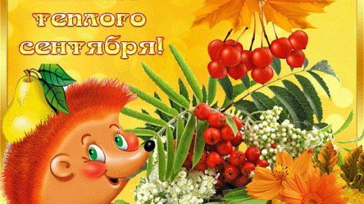 С добрым утром сентябрь   красивые картинки и открытки (21)