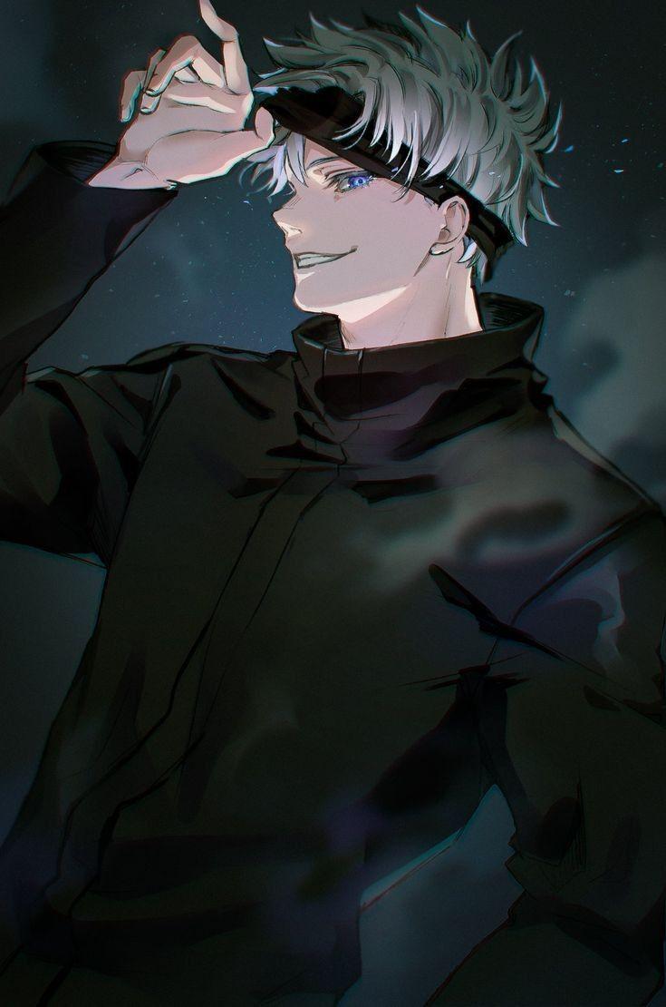 Красивые арты и картинки из аниме Магическая Битва (18)