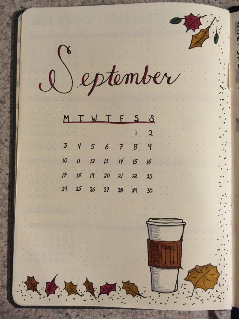 Красивый календарь на сентябрь 2021 год - подборка (11)