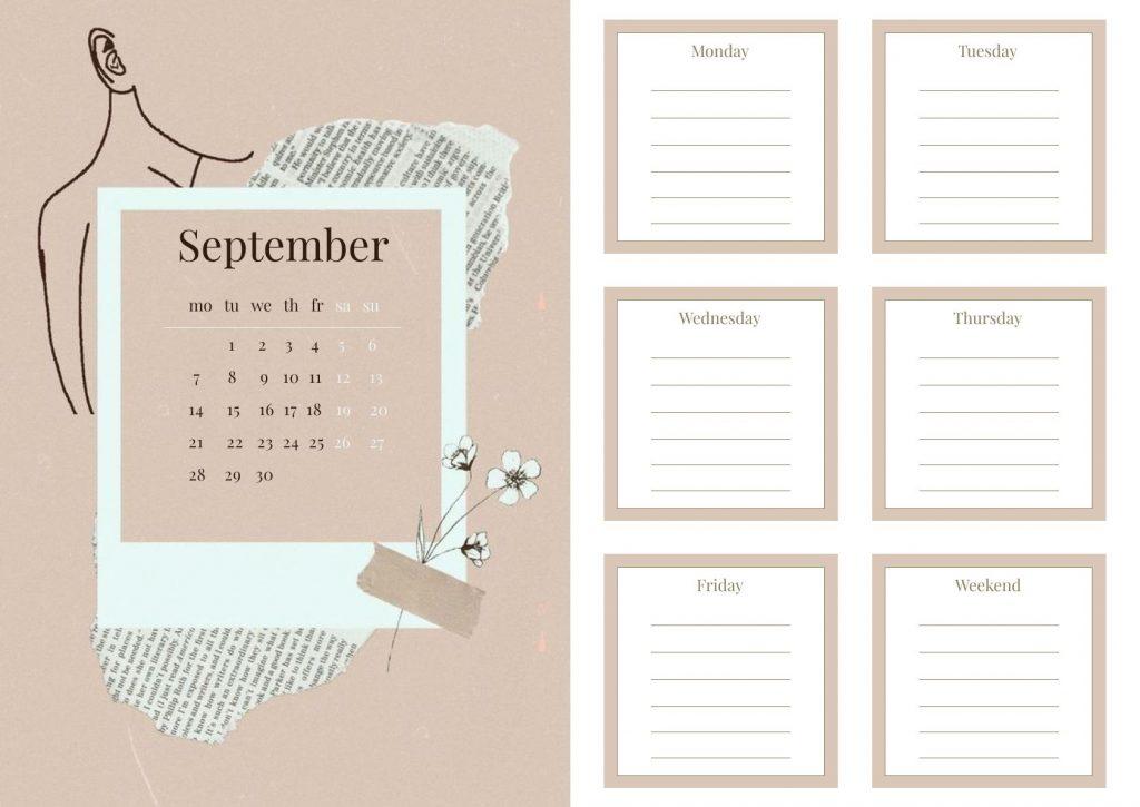 Красивый календарь на сентябрь 2021 год - подборка (12)