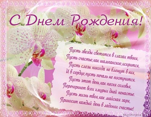Орхидеи с днем рождения фото и открытки (5)