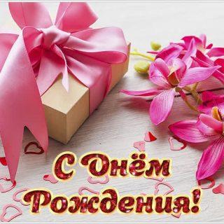 Орхидеи с днем рождения фото и открытки (7)
