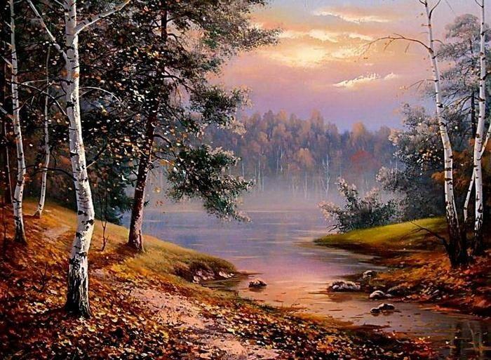 Осенние пейзажи 2021 года - большая фото подборка (1)