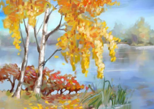 Осенние пейзажи 2021 года - большая фото подборка (17)