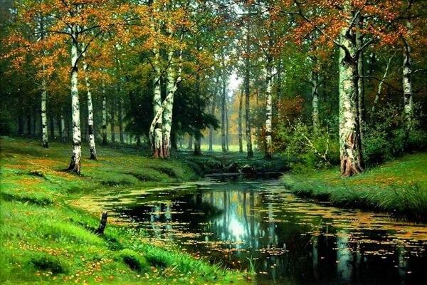 Осенние пейзажи 2021 года - большая фото подборка (2)