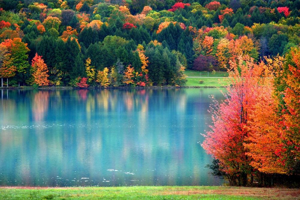 Осенние пейзажи 2021 года - большая фото подборка (21)