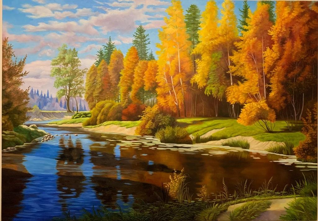 Осенние пейзажи 2021 года - большая фото подборка (23)