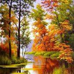 Осенние пейзажи 2021 года — большая фото подборка