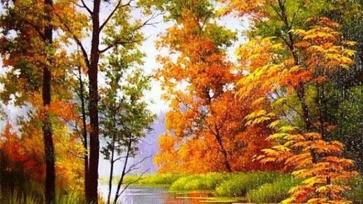 Осенние пейзажи 2021 года   большая фото подборка (26)