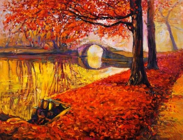 Осенние пейзажи 2021 года - большая фото подборка (5)